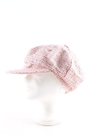 Mexx Visor Cap pink allover print casual look