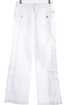 Mexx Pantalon pattes d'éléphant blanc style mode des rues