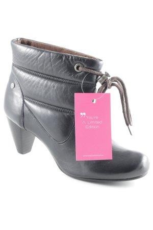 Mexx Schlüpf-Stiefeletten schwarz extravaganter Stil