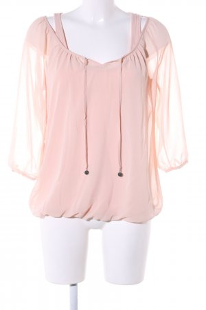 Mexx Schlupf-Bluse pink Casual-Look