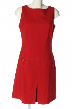 Mexx schulterfreies Kleid rot Casual-Look