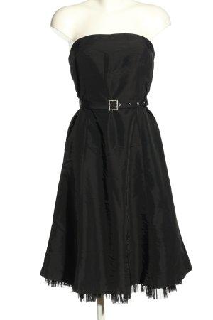 Mexx schulterfreies Kleid schwarz Elegant