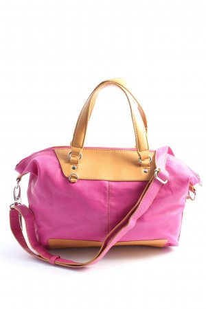 Mexx Schultertasche pink-creme Casual-Look