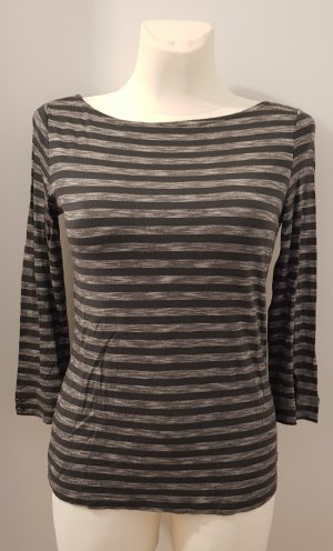 Mexx Stripe Shirt light grey-anthracite