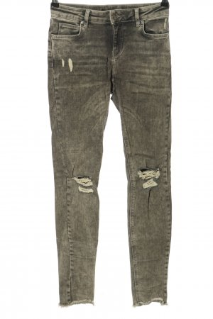 Mexx Skinny Jeans hellgrau Street-Fashion-Look