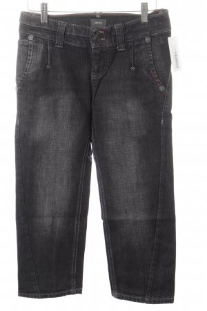 Mexx Skinny Jeans taupe-neonrot Street-Fashion-Look