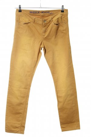 Mexx Slim Jeans blassgelb Casual-Look