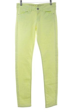 Mexx Slim Jeans neongelb Casual-Look
