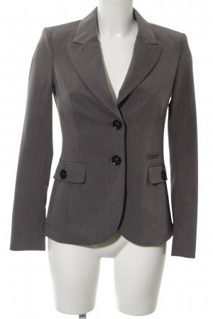 Mexx Smoking-Blazer hellgrau Allover-Druck Business-Look