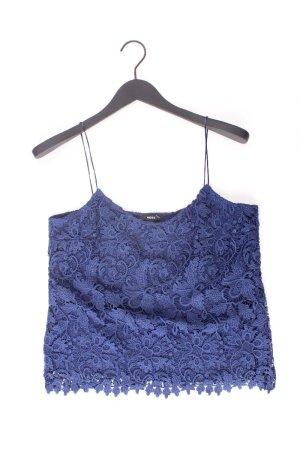 Mexx Spitzentop Größe 40 blau aus Polyester