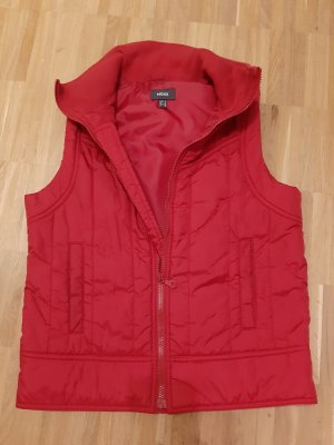 Mexx Quilted Gilet red