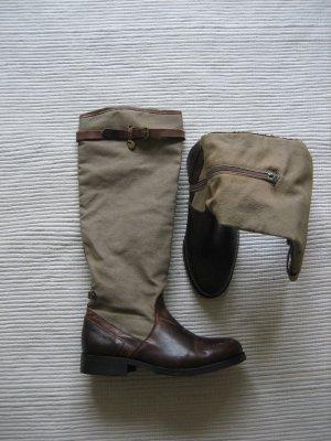 Mexx Botas moteras marrón-marrón arena