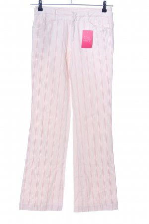Mexx Stoffhose pink Allover-Druck Casual-Look