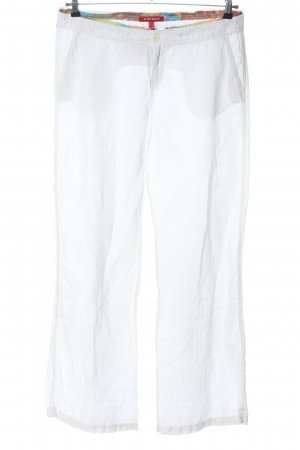 Mexx Jersey Pants white casual look