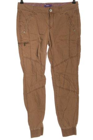 Mexx Pantalon en jersey brun style décontracté