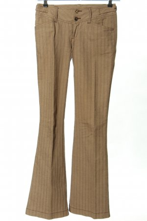 Mexx Stoffhose goldfarben Casual-Look