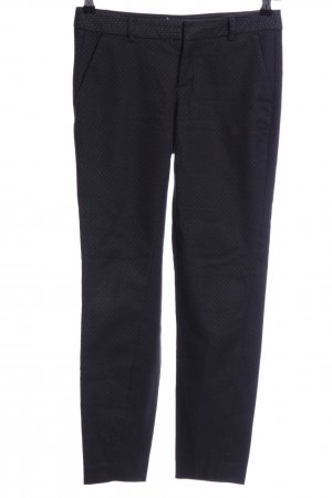 Mexx Jersey Pants black allover print casual look