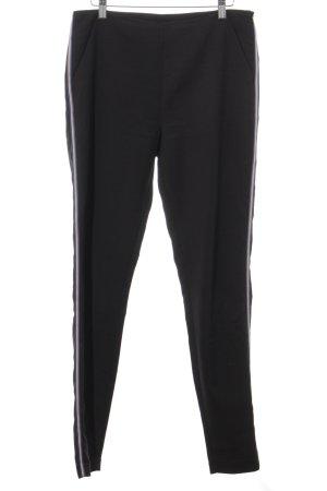 Mexx Stoffhose schwarz-blau klassischer Stil