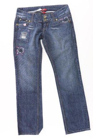 Mexx Straight Leg Jeans blue-neon blue-dark blue-azure