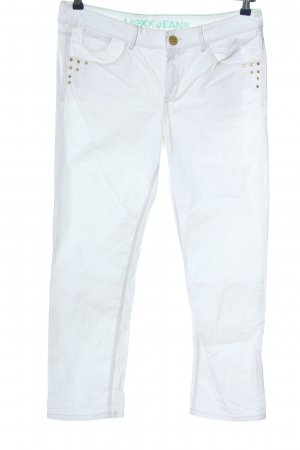 Mexx Straight-Leg Jeans weiß Casual-Look