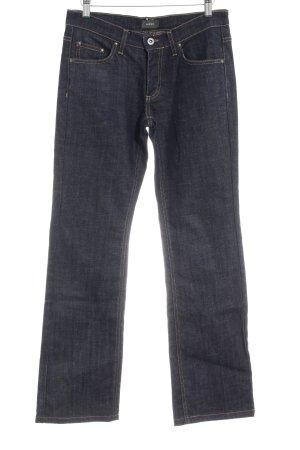 Mexx Straight-Leg Jeans dunkelblau Casual-Look