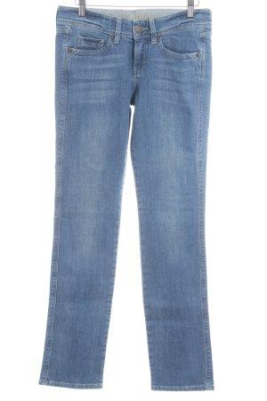 Mexx Straight-Leg Jeans himmelblau Casual-Look