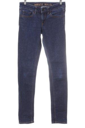Mexx Stretch Jeans blau Casual-Look