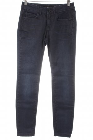 Mexx Stretch Jeans dunkelblau Casual-Look