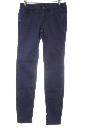 Mexx Stretchhose dunkelblau Casual-Look