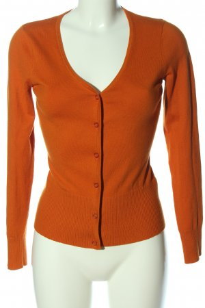 Mexx Knitted Cardigan light orange casual look
