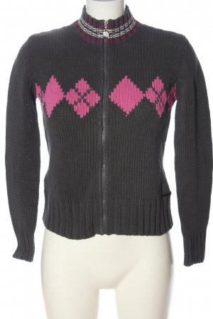 Mexx Strickjacke grafisches Muster Casual-Look
