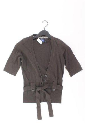 Mexx Strickjacke Größe XS Kurzarm braun aus Baumwolle