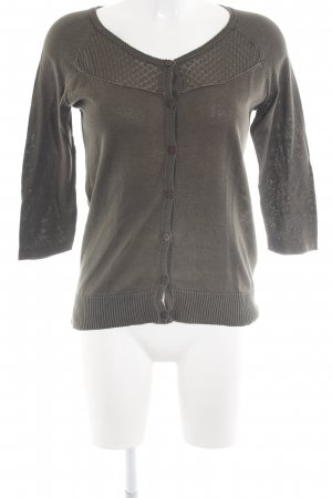 Mexx Strickjacke khaki Casual-Look