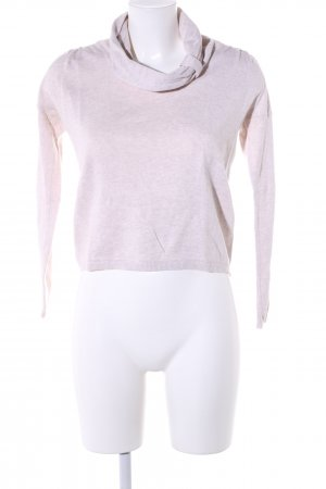 Mexx Strickpullover pink meliert Casual-Look