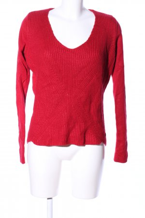 Mexx Strickpullover rot Casual-Look