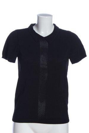 Mexx Camisa tejida negro look casual