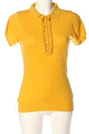 Mexx T-shirts en mailles tricotées orange clair style décontracté