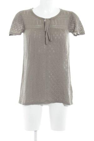 Mexx Strickshirt graubraun Casual-Look