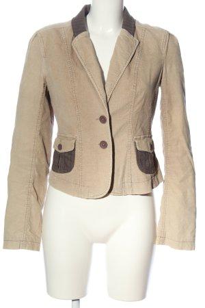 Mexx Sweat Blazer natural white-brown casual look