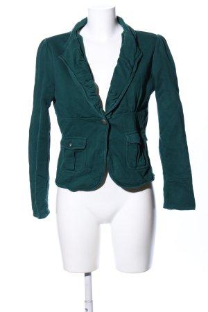 Mexx Sweatblazer groen casual uitstraling