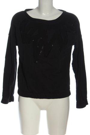 Mexx Sweatshirt schwarz Casual-Look