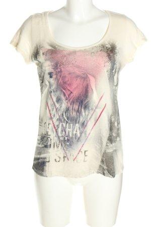 Mexx T-Shirt Motivdruck Casual-Look