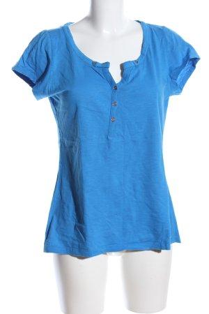 Mexx T-Shirt blau meliert Casual-Look