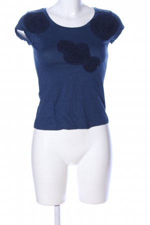 Mexx T-Shirt blau Casual-Look