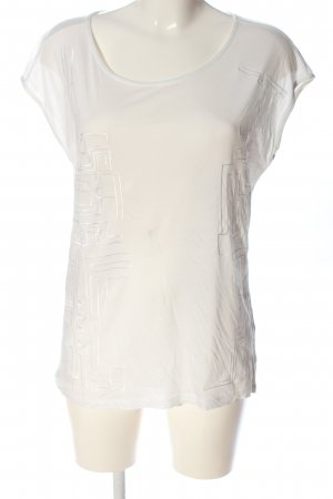 Mexx T-Shirt wollweiß Casual-Look