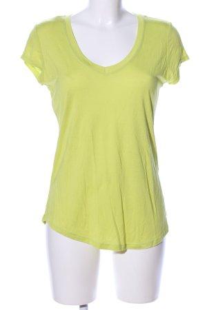 Mexx T-Shirt blassgelb Casual-Look