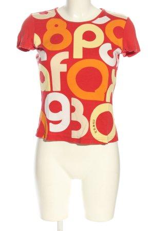 Mexx T-Shirt Schriftzug gedruckt Casual-Look