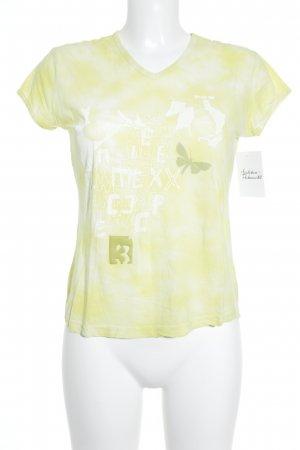Mexx T-Shirt gelb Casual-Look