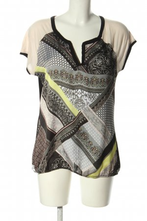 Mexx T-Shirt grafisches Muster Casual-Look