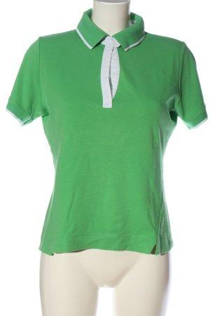 Mexx T-Shirt grün-weiß Casual-Look
